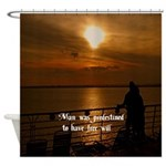 Free Will Shower Curtain