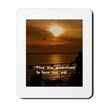 Free Will Mousepad