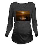 Free Will Long Sleeve Maternity T-Shirt