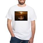 Free Will White T-Shirt