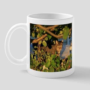 Cat in the Garden Mug