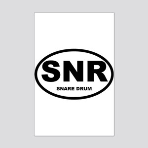 Snare Drum Shirts and Gifts Mini Poster Print