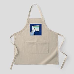 White Horse Blue Window Apron