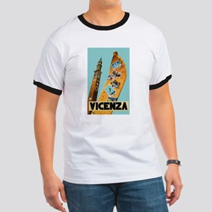 Vicenza Italy - Vintage Travel T-Shirt