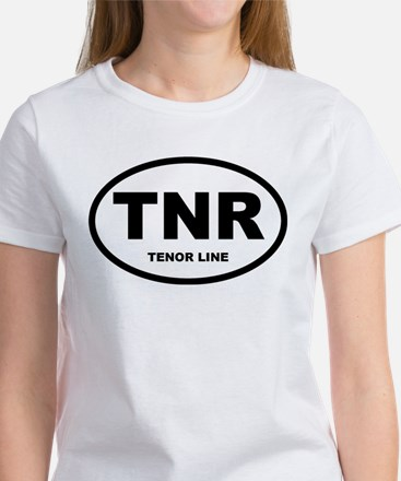 Tenor Drums Shirts and Gifts Women's T-Shirt