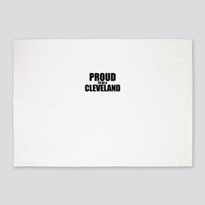 Proud to be CLEVELAND 5'x7'Area Rug