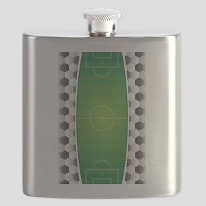 Soccer Football Field Flask