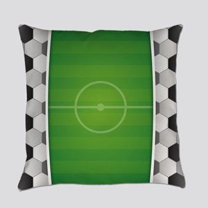 Soccer Football Field Everyday Pillow