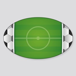 Soccer Football Field Sticker