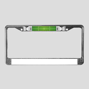Soccer Football Field License Plate Frame
