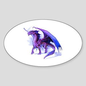 Purple Dragon Sticker