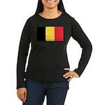 Belgium Flag Long Sleeve T-Shirt