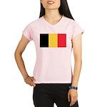 Belgium Flag Performance Dry T-Shirt