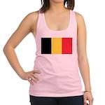 Belgium Flag Racerback Tank Top
