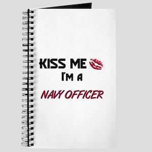 Kiss Me I'm a NAVY OFFICER Journal