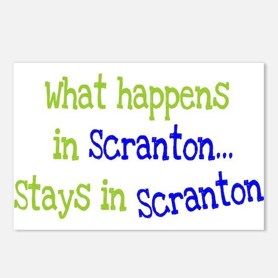What Happens In Scranton Postcards (Package of 8)