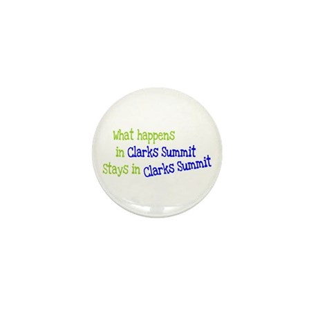 What Happens In Clarks Summit Mini Button (10 pack
