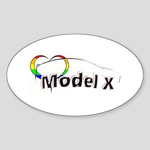 Model X Pride Sticker