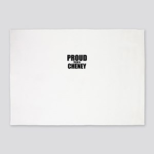 Proud to be CHENEY 5'x7'Area Rug