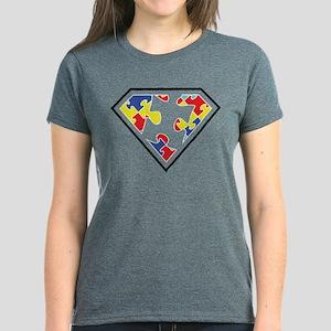 Autism is my Super Power Women's Dark T-Shirt