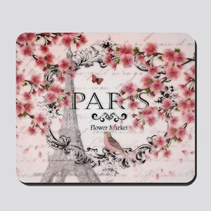 Paris spring Mousepad