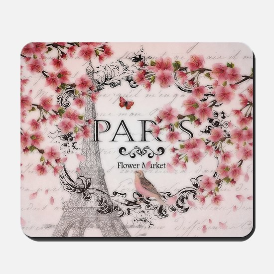 Paris spring Mousepad