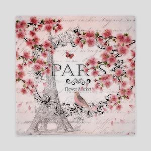 Paris spring Queen Duvet
