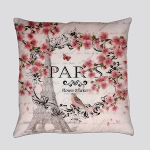 Paris spring Everyday Pillow