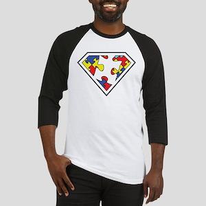 Autistic SuperHero Baseball Jersey