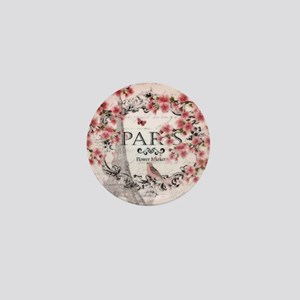 Paris spring Mini Button