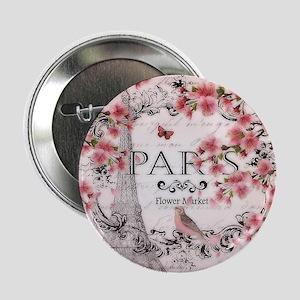 "Paris spring 2.25"" Button"