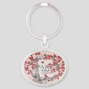 Paris spring Keychains