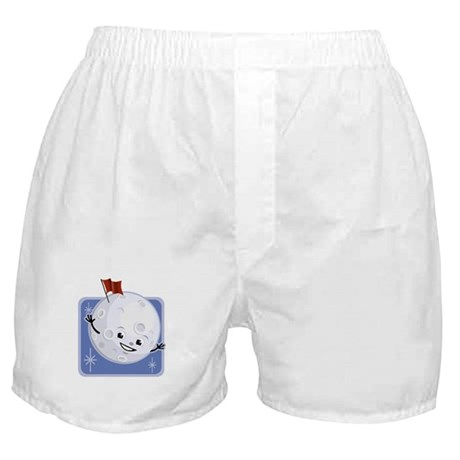 Flag on the Moon Boxer Shorts
