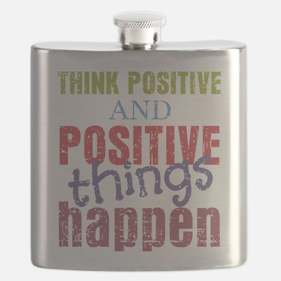 Think Positive and Positive Things Happen Flask