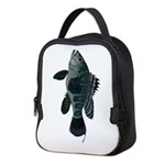 Black Sea Bass (Atlantic) Neoprene Lunch Bag