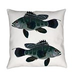 Black Sea Bass (Atlantic) Everyday Pillow