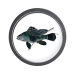 Black Sea Bass (Atlantic) Wall Clock