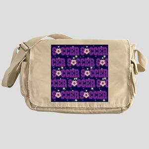 Soccer Girls Messenger Bag