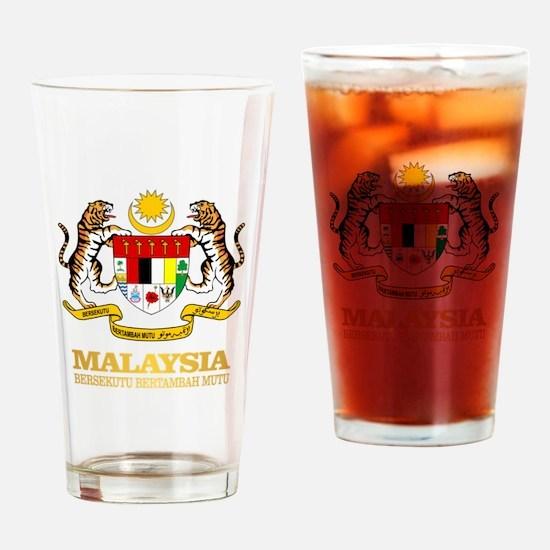 Malaysia COA Drinking Glass