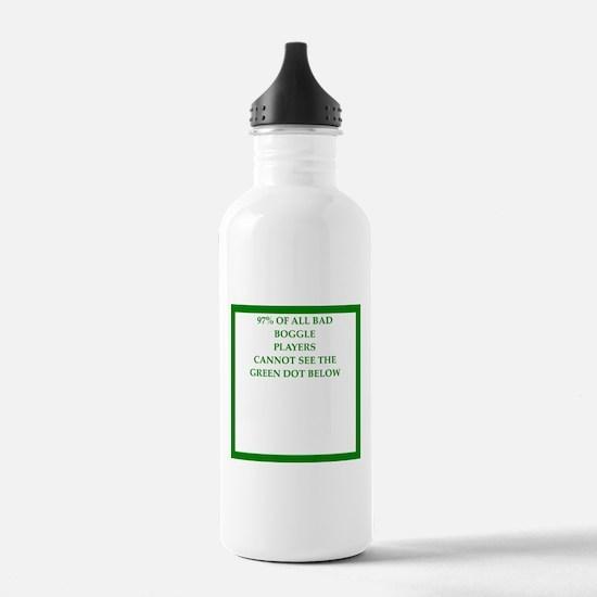 sports and gaming joke Water Bottle