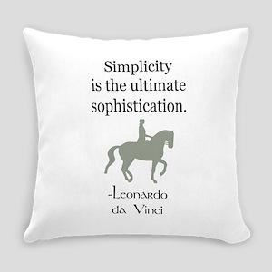 da Vinci quote dressage rider Everyday Pillow