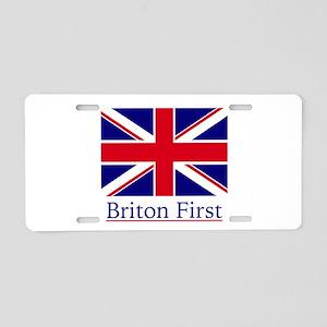 Briton First Aluminum License Plate