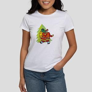 Here Comes Santa Claus! Women's T-Shirt