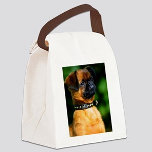 brussels griffon Canvas Lunch Bag