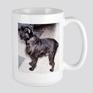 brussels griffon black full Mugs