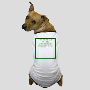 golfer Dog T-Shirt
