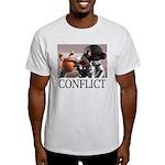 Conflict Ash Grey T-Shirt