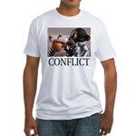 Conflict Fitted T-Shirt