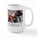 Conflict Large Mug