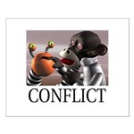 Conflict Small Poster